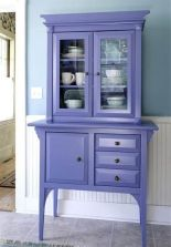 Bufet dapur ungu duco kayu - ud kayu mebel