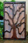 Dekorasi frame kayu