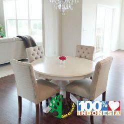 set kursi makan modern sofa