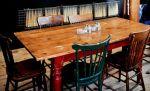 Set meja makan Cafe Jati Johor